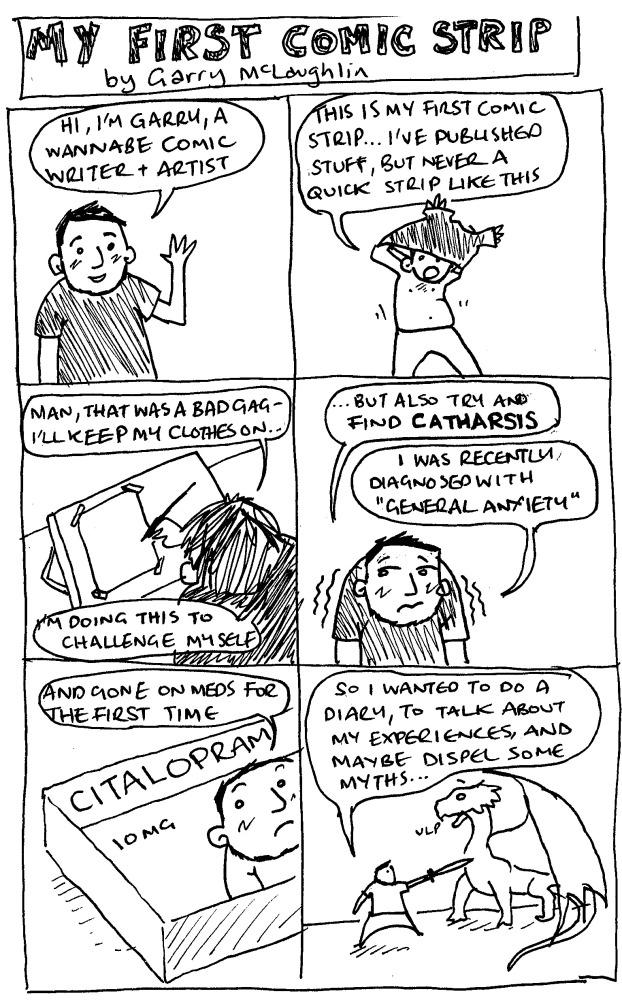 1 - My First Comic Strip