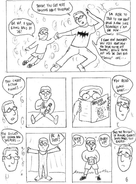Page 2 of John Lees comic